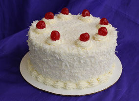Coconut Cake from Sugar Plum Bakery