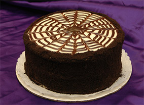 Black Velvet Cake from Sugar Plum Bakery
