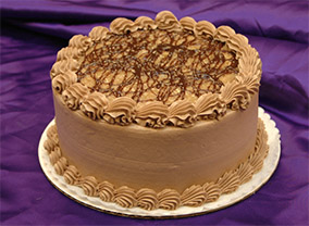 German Chocolate Cake from Sugar Plum Bakery