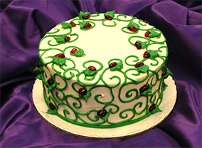 Raspberry Delight Cake from Sugar Plum Bakery