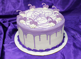 Sugar Plum Fairy Cake from Virginia Beach Bakery.
